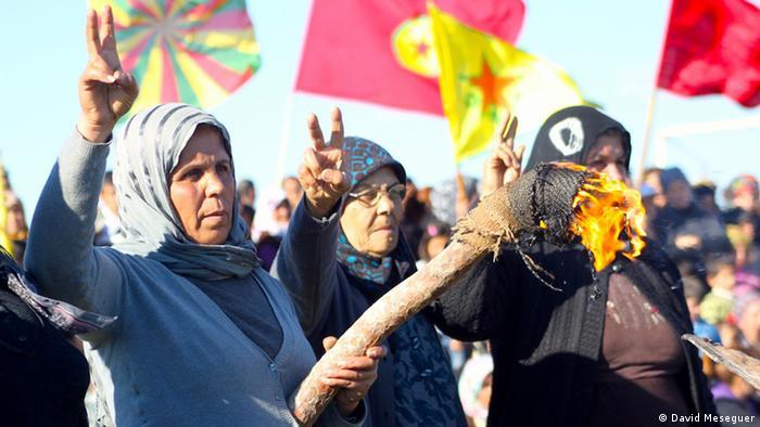 Kurden und die Syrien-Krise (David Meseguer)