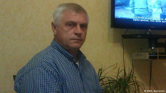 Portrait von Fjodor Solomachin (Foto: DW)