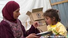 Welternährungsprogramm WFP Nahrung für Flüchtlinge