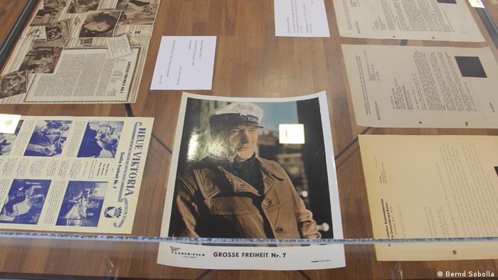 Filmzensur in Europa Schaukasten zu Große Freiheit Nr. 7 (Foto: Bernd Sobolla)