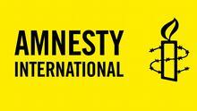 Auf dem Bild: Das von Amnesty International
