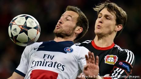 Champions League Bayer 04 Leverkusen Paris Saint-Germain