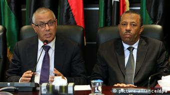 Two North African politicians.