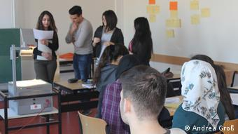 Türkischunterricht am Ricarda-Huch-Gymnasium Gelsenkirchen (Foto: DW/Groß)