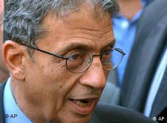 عمرو موسی، دبیرکل اتحادیهی عرب