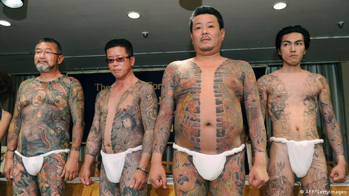 Yakuza Kriminalität in Japan