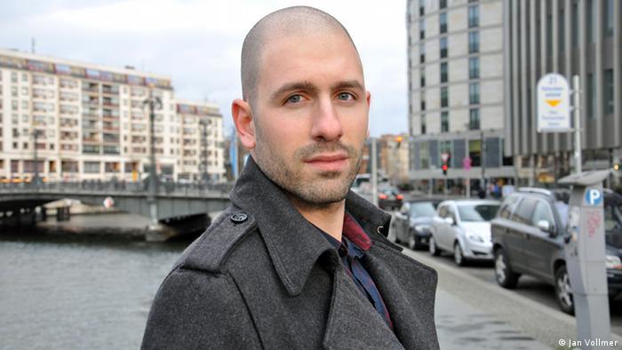 Portrait of Author Oliver Jeges Photo: Jan Vollmer