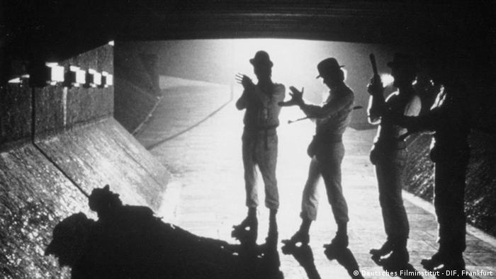 Verboten! Filmzensur in Europa A Clockwork Orange Filmstill (Foto: Deutsches Filminstitut DIF Frankfurt)