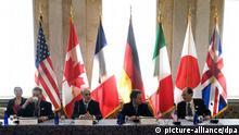 Symbolbild G7 Flaggen Finanzministertreffen 2009