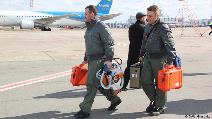 Немецкий эвакуационный самолет Medevac