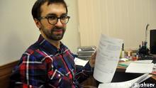 Ukraine Journalist Sergej Leschenko