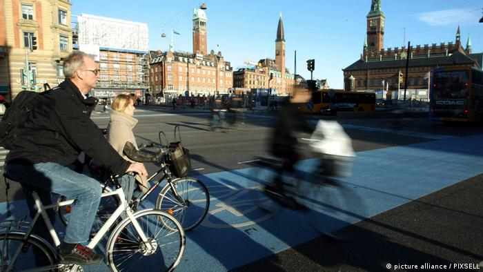 Fahrräder in Kopenhagen (picture alliance / PIXSELL)