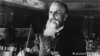 Russian composer Nikolai Rimsky-Korsakov