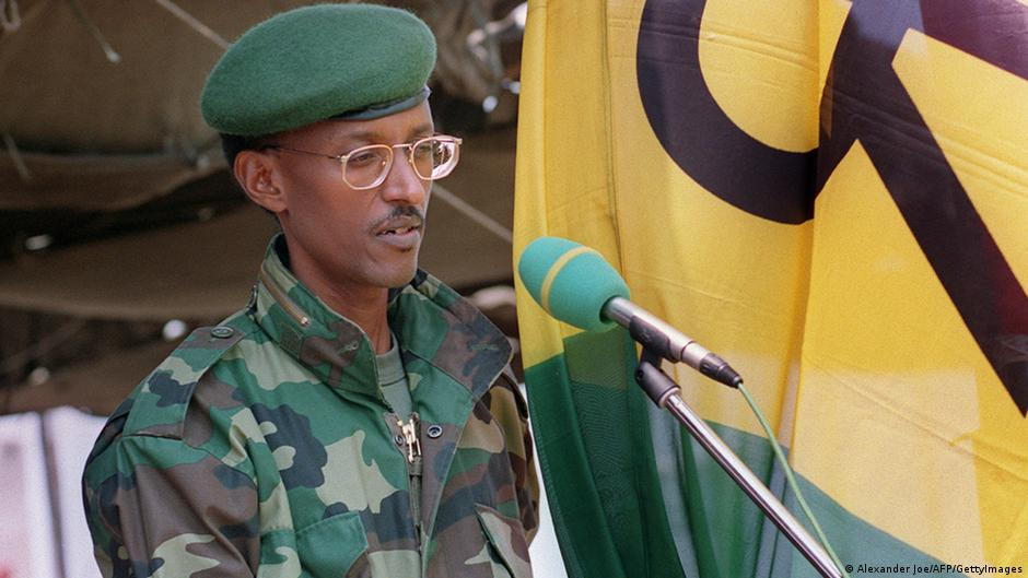Image result for paul kagame military years