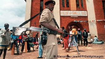 Juli 1994: Kämpfer der RPF erobern Kigali