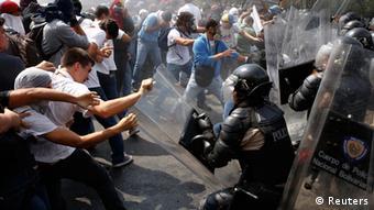 Las protestas en Venezuela atrajeron la atención internacional brevemente.