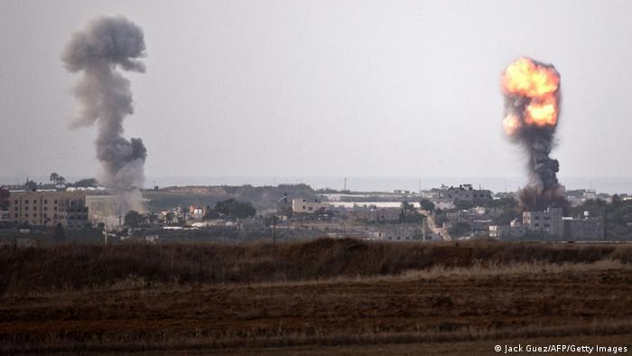 Symbolbild Israel Luftangriff Gaza (Jack Guez/AFP/Getty Images)