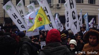 Gezi-Demo in Istanbul. (Foto: DW)