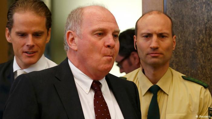 Prozess Uli Hoeneß Steuerhinterziehung 13.03.2014 (Reuters)