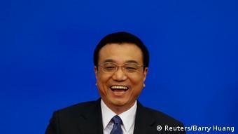 Porträtfoto des lachenden Li Keqiang (Foto: Reuters/Barry Huang)