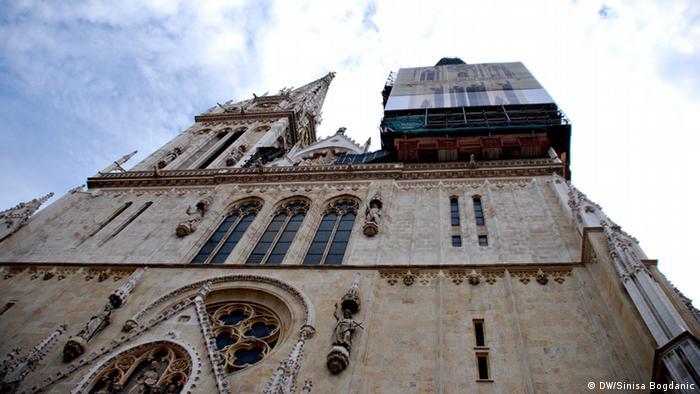 Die Kathedrale von Zagreb