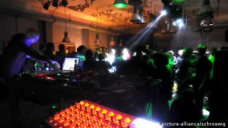 Club Berghain in Berlin