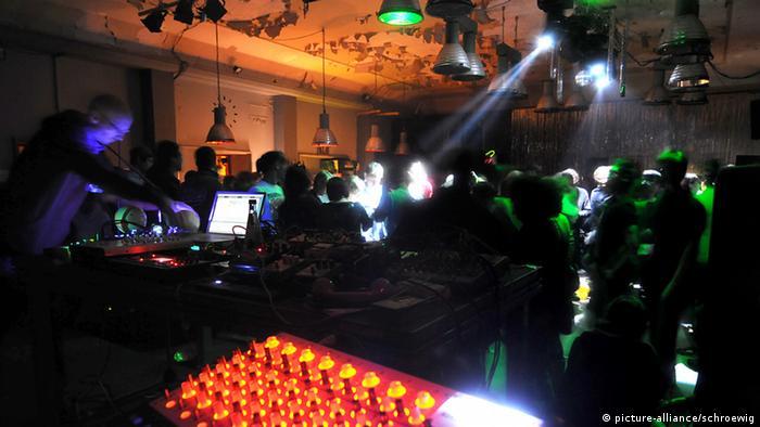Club Berghain in Berlin. Copyright: Picture-Alliance/Schroewig