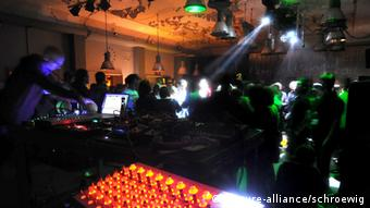 Club Berghain in Berlin, Copyright: picture-alliance/schroewig