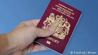 Reisepass Großbritanien