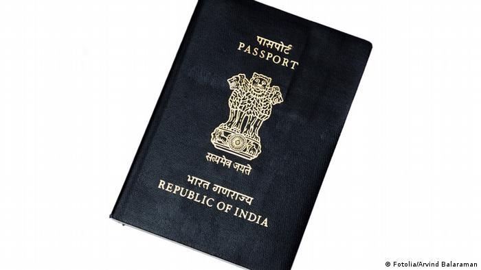 Reisepass Indien (Fotolia/Arvind Balaraman)