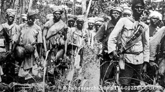 Askaris and bearers in German East Africa