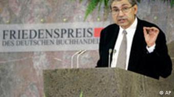 BdT Orhan Pamuk Friedenspreis des deutschen Buchhandels