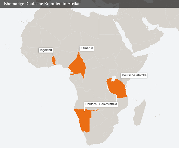 Ehemalige Deutsche Kolonien in Afrika