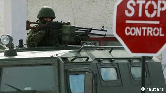 ukraine krim patrouille simferopol russland