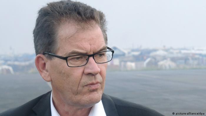 Entwicklungsminister Gerd Müller in der Zentralafrikanischen Republik