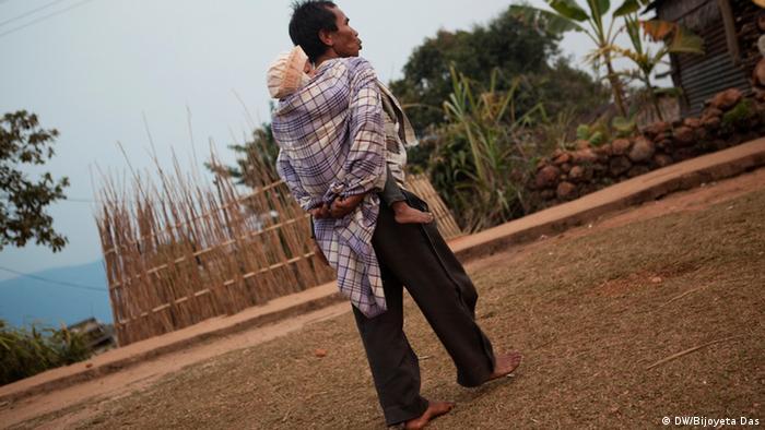Matrilineal society in Meghalaya state in northeastern India   (Photo: Bijoyeta Das / DW)