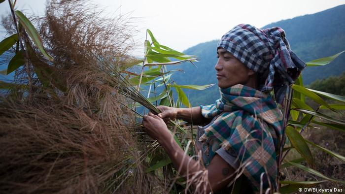 Matrilineal society in Meghalaya state in northeastern India 