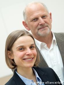 Andrea Ablasser und Michael Reth