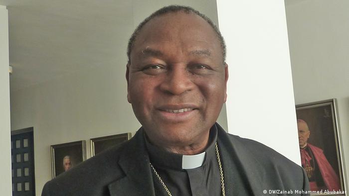 Kardinal John Onaiyeka, Foto: Zainab Mohammed Abubakar (DW)