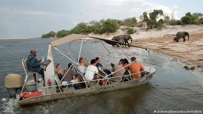 Kaza nature reserve in Botswana