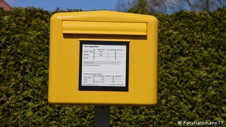 Briefkästen in Europa