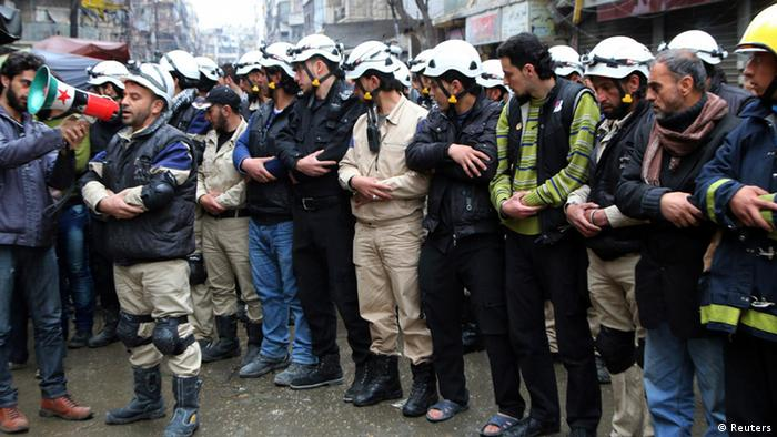 Syrien Aleppo Gebet (Reuters)