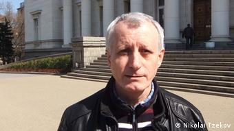 Vladimir Kalojanov Porträt Historiker Bulgarien