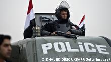 Symbolbild Ägypten Kairo Polizei Wachposten