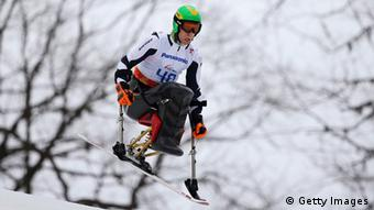 Georg Kreiter bei den Paralympics in Sotschi. Foto: Getty Images