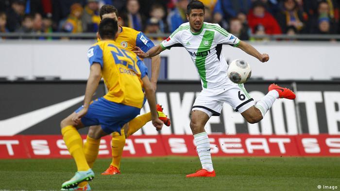 Fußball 1. Bundesliga 25. Spieltag Eintracht Braunschweig vs VfL Wolfsburg