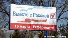 Krim Referendum / Plakat