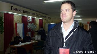 Referendum auf der Krim Johann Gudenus (DW/A. Brenner)