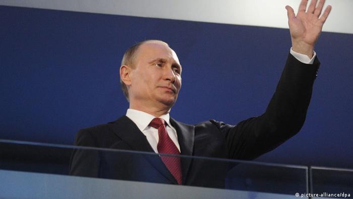 Sport Paralympics 2014 Schlussfeier Putin