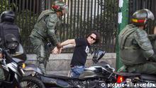 Caracas, Venezuela, Proteste, Maduro, Chavez, Festnahme